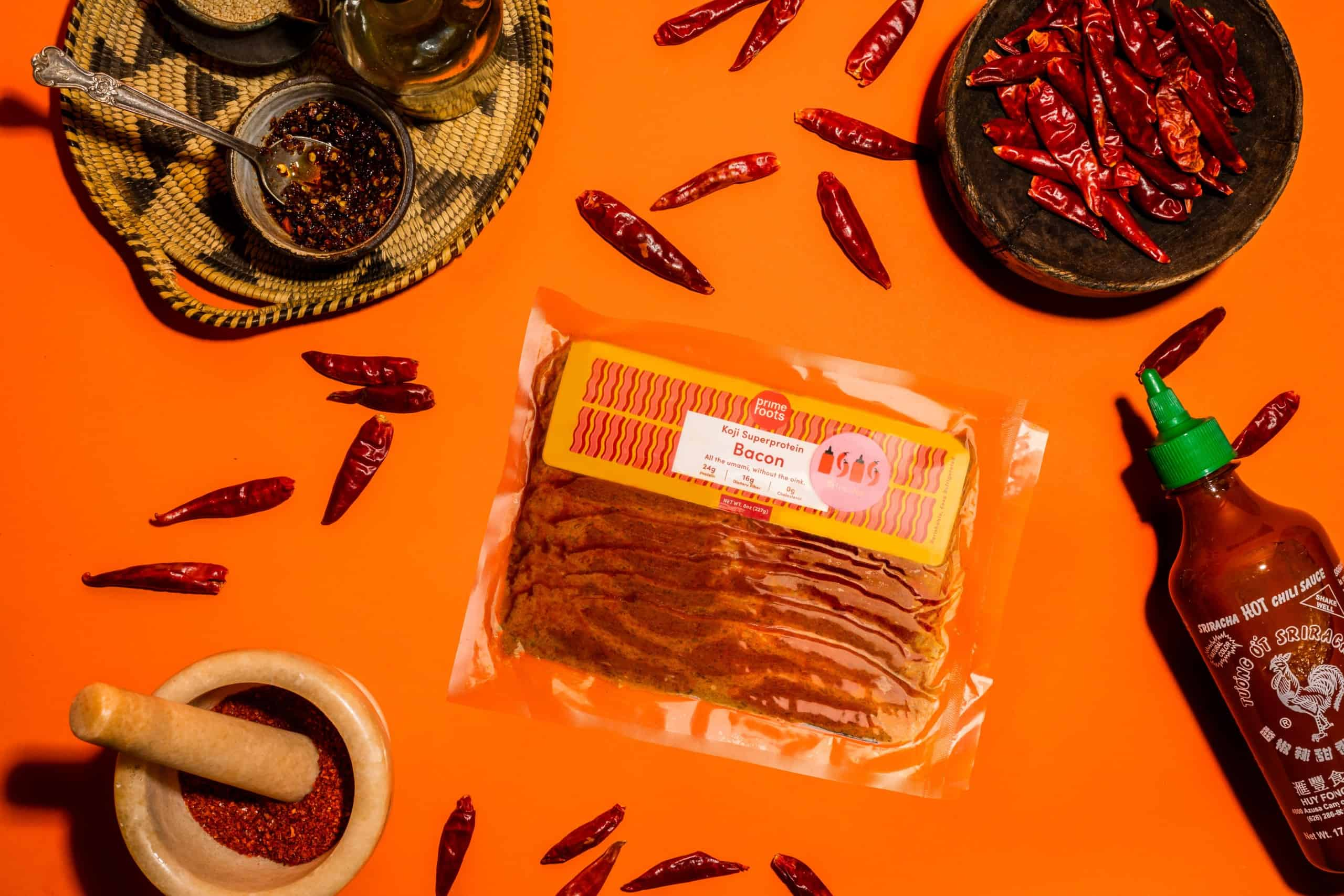 sriracha bacon spices Prime Roots