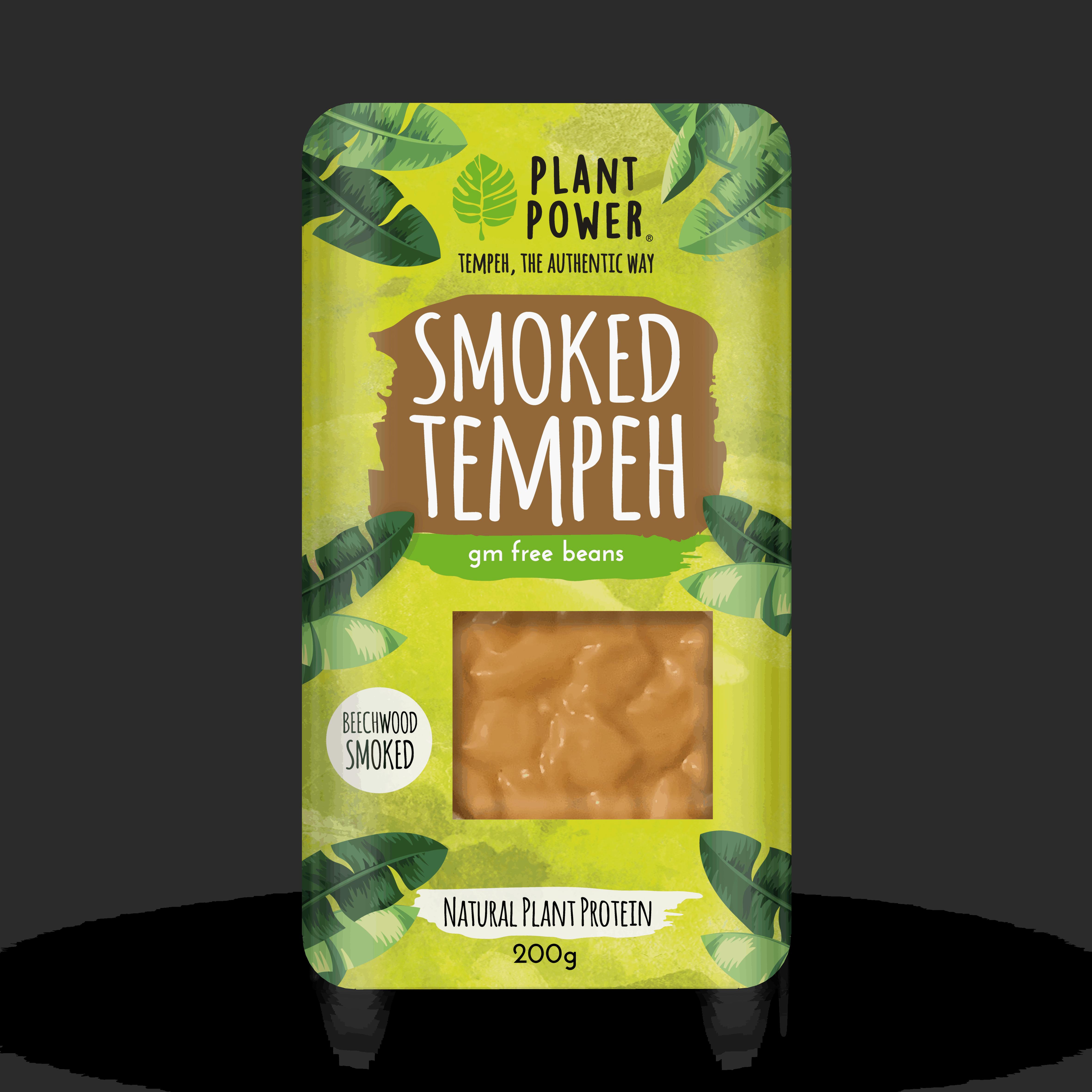 Plant Power tempeh