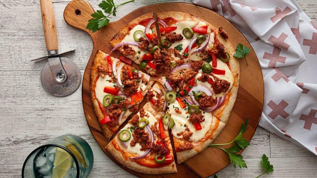 v2food v2mince pizza