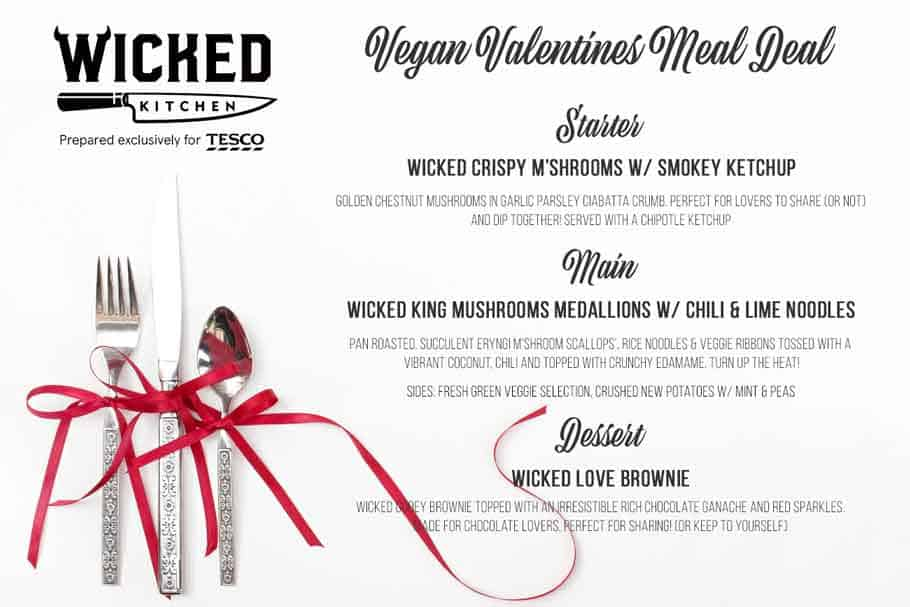 Wicked Kitchen valentines