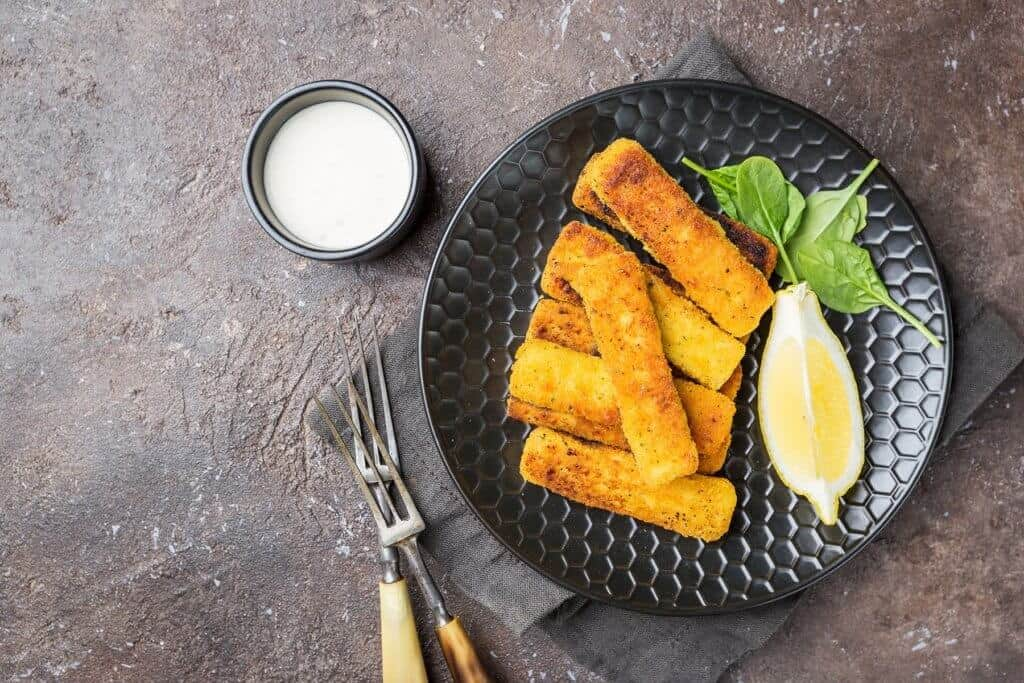 veggie fish fingers Novish