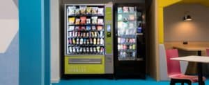 Heathy Nibbles vending machine